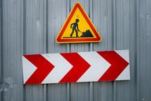 Panneau Chantier Construction ...