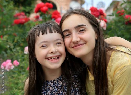 Fotografie, Obraz  Happy family moments in the park