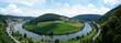 Rhein, Flussbiegung, Insel