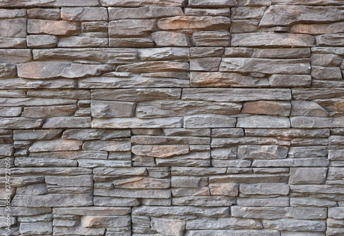 Dark Gray And Brown Exterior Wall Cladding Made Of Irregular Natural Stones Stone Paneling Background And Texture Buy This Stock Photo And Explore Similar Images At Adobe Stock Adobe Stock