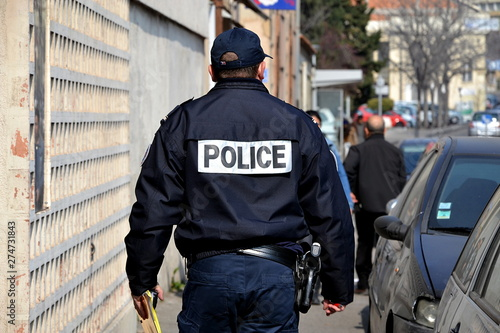 Fototapeta French policeman
