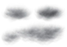 Virtual Black Cloud Vectors Is...