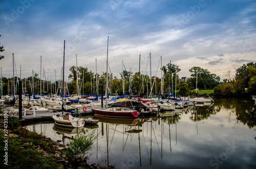 Photo Old Town Alexandria Harbor Virginia USA
