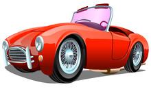 Cartoon Sport Red Passenger Re...