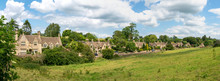 Panoramic View Of The Picturesque Cotswold Village Of Westonbirt, Gloucestershire, United Kingdom
