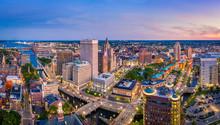 Aerial Panorama Of Providence ...