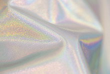 Textile Colorful Holographic Background
