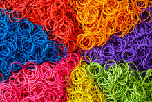 Multi Colorful Rubber Band Bac...