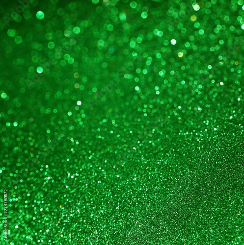 green abstract background - 274790072