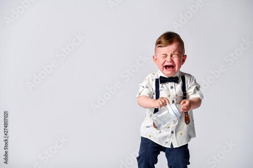 Fototapeta  Crying baby
