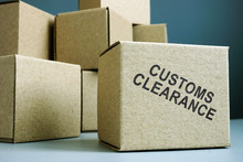 Customs Clearance Stamp On A S...