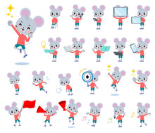 Animal Mouse Boy_Action