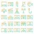 Television icons pack