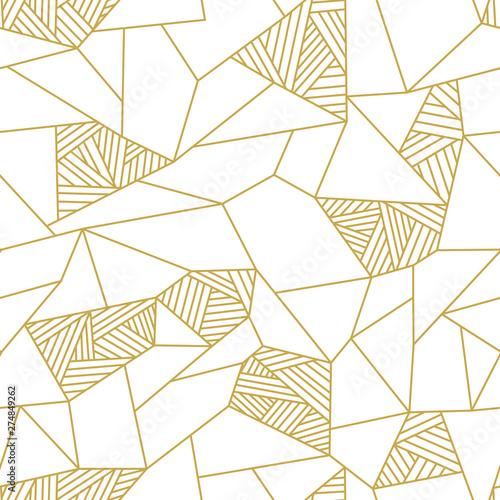 Photo Doodle polygon background