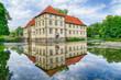Historisches Wasserschloss in Herne
