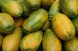 canvas print picture - papaya fruits texture