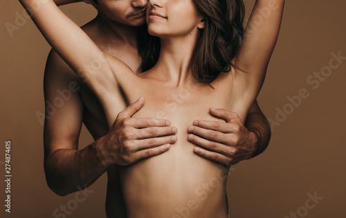 Valokuva  Passionate young couple