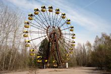Old Ferris Wheel In The Ghost ...