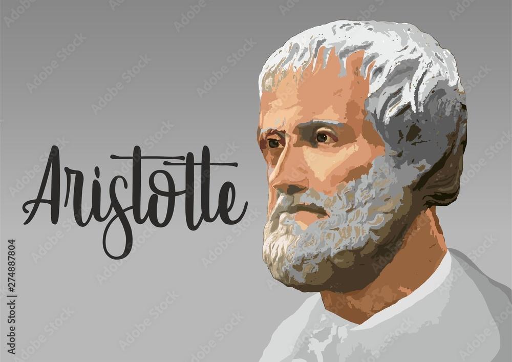 Fototapeta Aristotle portrait