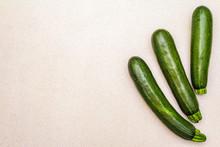 Bright Green Zucchini