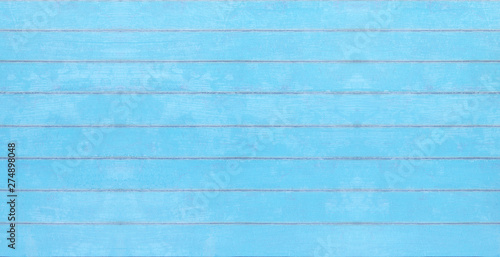 Blue vintage wood texture, summer board background 3D Rendering