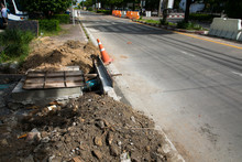 Repair Of Roads And Underground Water Pipes In The City
