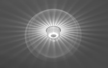 Modern Roof Light With Circle ...