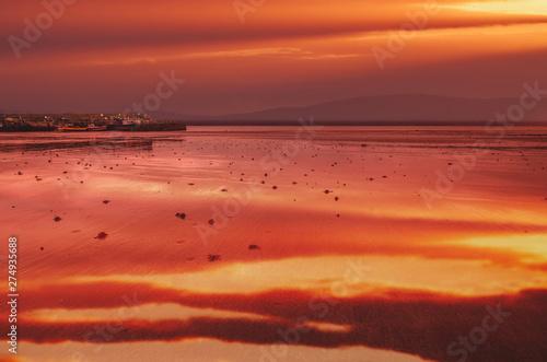 Cadres-photo bureau Brique Paysage Irlande