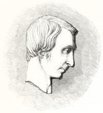 Profile Head Of Guillaume Loui...