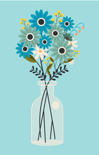 The Vector Art Of Flower In Th...