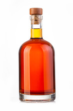Whiskey Bottle Isolated