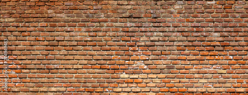 Poster Montagne brick wall background