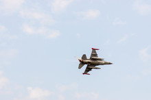 F-16 Fighting Falcon Viewed From Under At A Airshow
