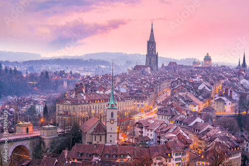 Old Town of Bern, capital of Switzerland in Europe Fototapete