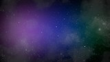 Particles and stars in galaxy, abstract background