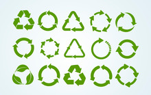 Big Set Of Recycle Icon. Recyc...