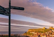 Pointing To Whitby.