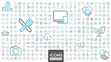 Thin Line Icons Collection