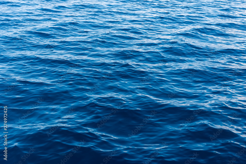 Fototapety, obrazy: Sea water surface texture. Deep sea waves