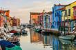 Venedig Burano am Abend