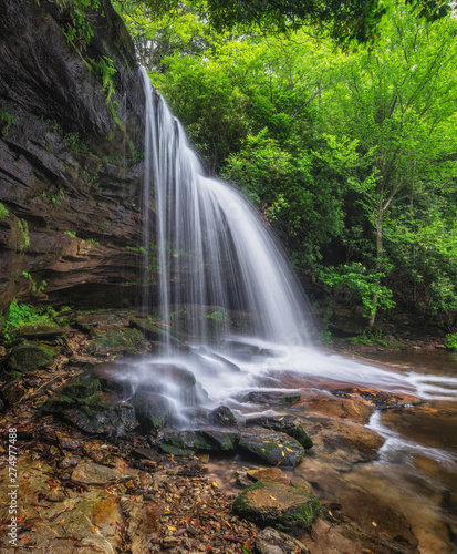 North Carolina Waterfall - Schoolhouse Falls