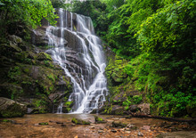 North Carolina Waterfall Near ...
