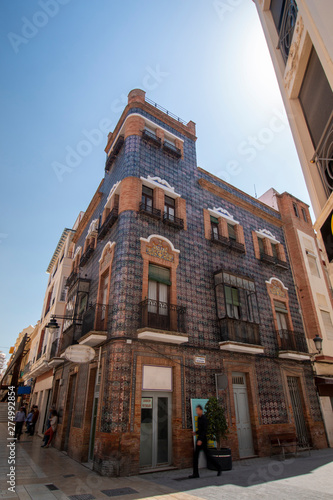 beautiful architecture of Huelva