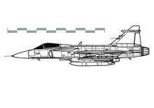 SAAB JAS 39 Gripen. Outline Ve...