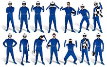 Set Collection Of Race Driver ...