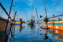 Fishing Boats, Jaffna, Sri Lanka