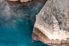 Closeup Of Rock Inside Of Grjo...