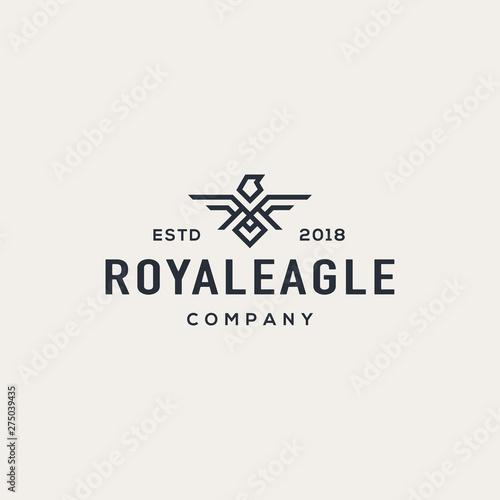Eagle logo design concept. Universal eagle logo. Fototapet