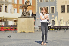 Girl In The City - Warsaw, Poland