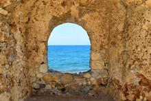 Fenster Öffnung Im Mauer Auf ...